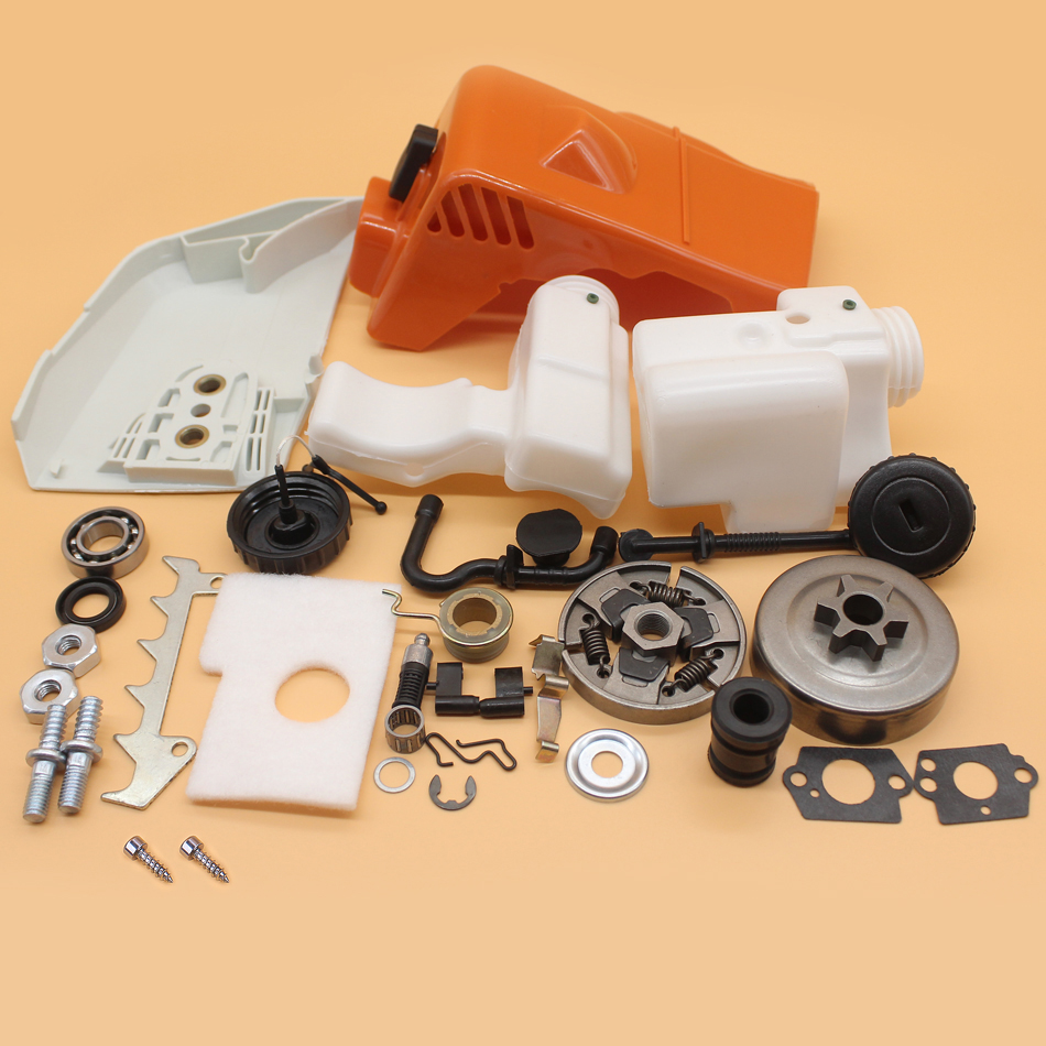 Chainsaw 018 Cover STIHL MS Oil MS180 Drum Kit Clutch 180 Top Cylinder MS170 170 017 Tank Fuel For Replacement Parts Sprocket