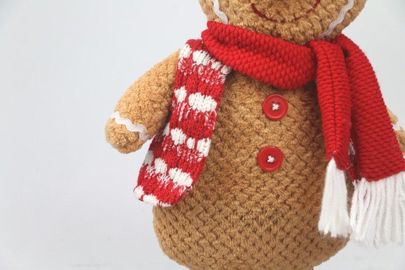 Gingerbread Man plush საშობაო საჩუქარი - პლუშები სათამაშოები - ფოტო 4