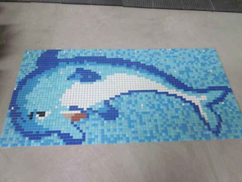 dolphin mosaic for swimming pool fish scale mosaic tile fish mosaic tile pattern