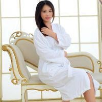Pajamas Gown Women S Solid Color Full Sleeve Terry Cotton Sleep Lounge Robes Accappatoio Robes For