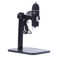 D1U New Portable1000X 8 LED 2MP USB Digital Microscope EndoscopeMagnifier Camera Lift Stand Free Shipping