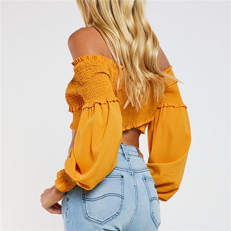 HTB1RTP7XxHBK1JjSZFvq6yKtXXaX - off shoulder top long sleeve wrap blouse strapless PTC 227