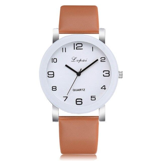 Coffee Quartz Watch