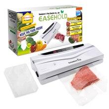 Easehold Automático Sistema de Sellado de Humedad Seca Fresca A Granel de Alimentos de Ahorro Sellador Al Vacío con Bonus Starter Kit