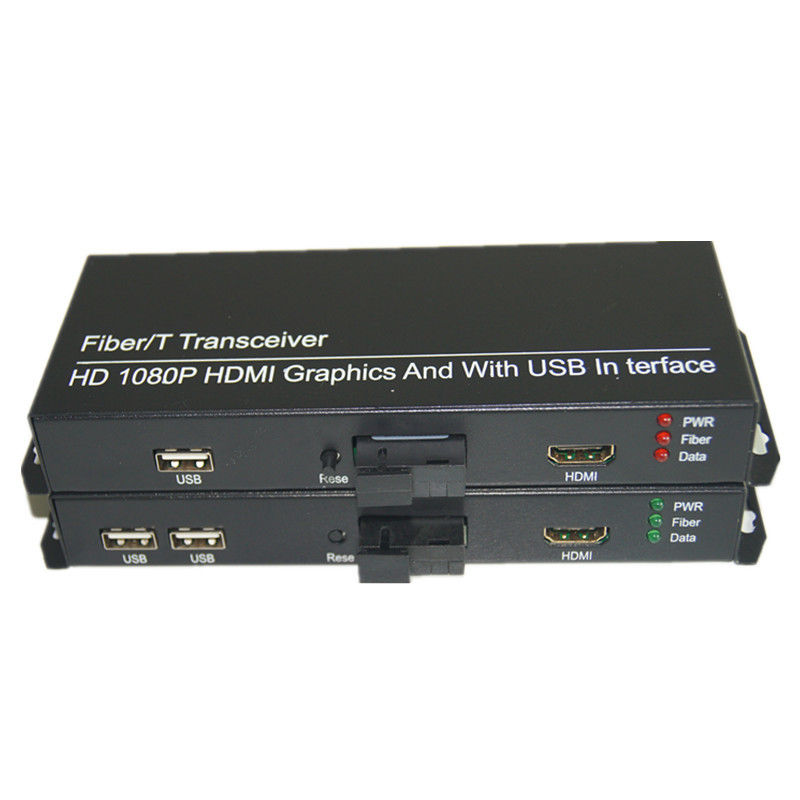 Jyttek HD 1080P HDMI Extender Converters with 2 KVM USB2.0, HDMI Signal Over Fiber SCJyttek HD 1080P HDMI Extender Converters with 2 KVM USB2.0, HDMI Signal Over Fiber SC