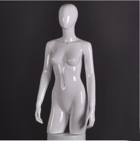 High Quality Female Half Body Mannequin Fiberglass Upper Body Mannequin Hot Sale mannequin