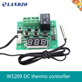 1 PCS W1209 DC 12 V calor temperatura fria termostato switch controle de temperatura controlador de temperatura termômetro controlador thermo