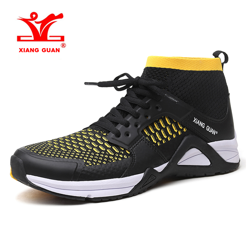 2018 XIANG GUAN Mens Light Weight Trail Running Shoes Breathable Outdoor Sports Shoes Travel Shoes For Men Free Shipping 96990