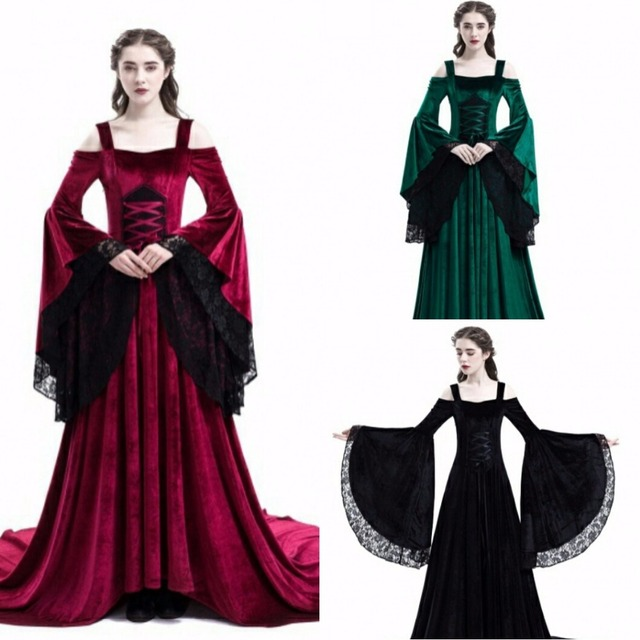073d9f8b8b3 Women s Medieval Renaissance Victorian Evening Dresses Medieval Renaissance  Costumes Ball Gown Ball Gowns Costume