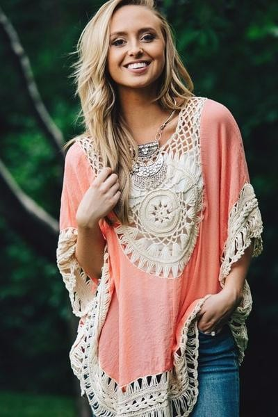 Quality Crochet Bikini Cover-ups Hollow Out Women Handmade Beachwear Bohemia Robe Cover up One-piece Flax Vacation Smock 5