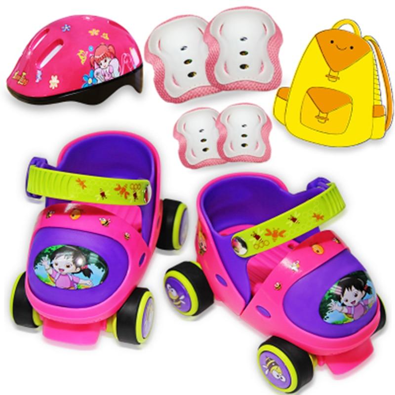 Sepatu Anak Anak Pemula Set Lengkap Sepatu Roda Sepatu Roda Anak