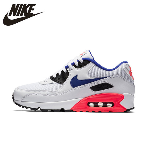 NIKE AIR MAX 90 zapatos esenciales para correr de hombre de malla transpirable calzado súper ligero soporte zapatillas deportivas para zapatos de hombre #537384