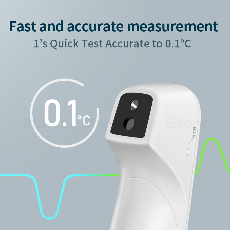 Image 2 - Xiaomi Mijia Infrared Forehead Thermometer Digital Infrared Forehead Body TFLAG Thermometer for Baby Kids Adults Elders-in Smart Remote Control from Consumer Electronics
