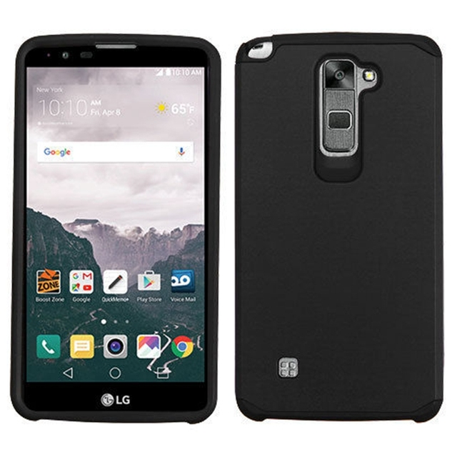 on sale 32891 915a3 US $4.99 |Slim Hybrid PC+TPU Shockproof Hard Impact Rubber Case Cover For  LG G Stylo 2 Plus MS550 K530 / Stylus 2 LS775/ G Stylo 2 K520 on ...