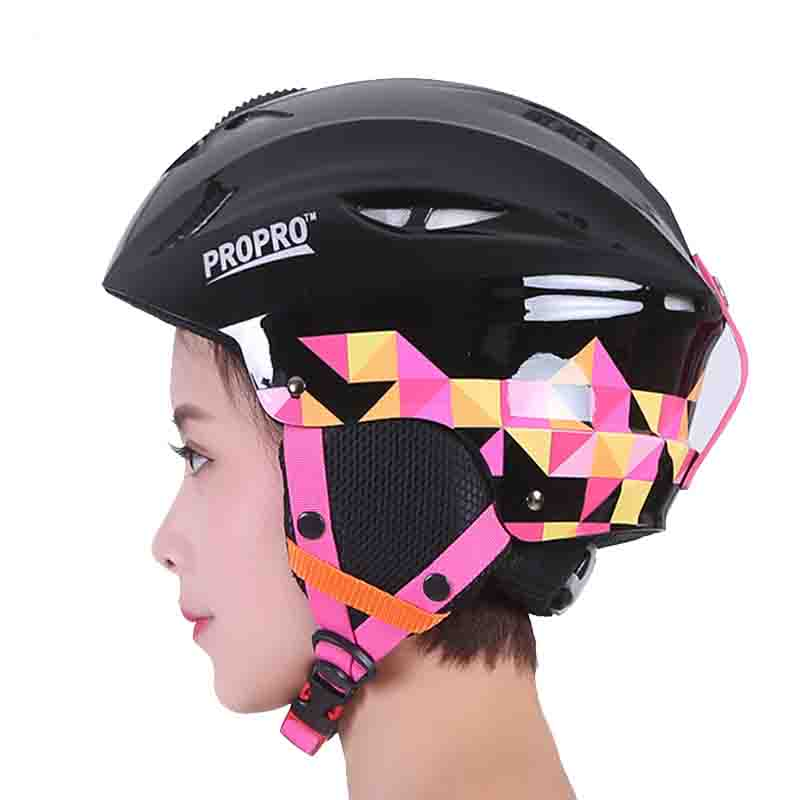 Brand PROPRO Sport Helmet ABS + EPS Outdoor skiing skating Men women Winter Warm Breathable Outdoor sports ski helmet free shipping new brand ski helmet with abs shell snowboard protection snowboardig skiing helmet with mirror for men women