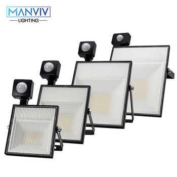 LED Motion Sensor Floodlight 15W 30W 45W 60W AC220V SMD2835 Adjustable Sensor Outdoor LightingGarden Garage Spotlight Wall Lamp - DISCOUNT ITEM  42% OFF All Category