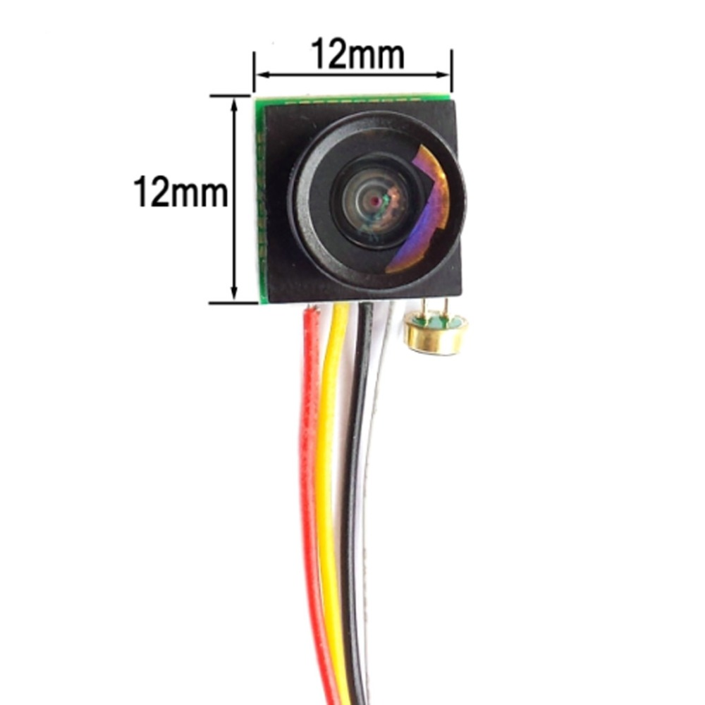 600TVL 1//4 1.8mm Lens CMOS 170 Degree Wide Angle CCD Mini FPV Camera NTSC