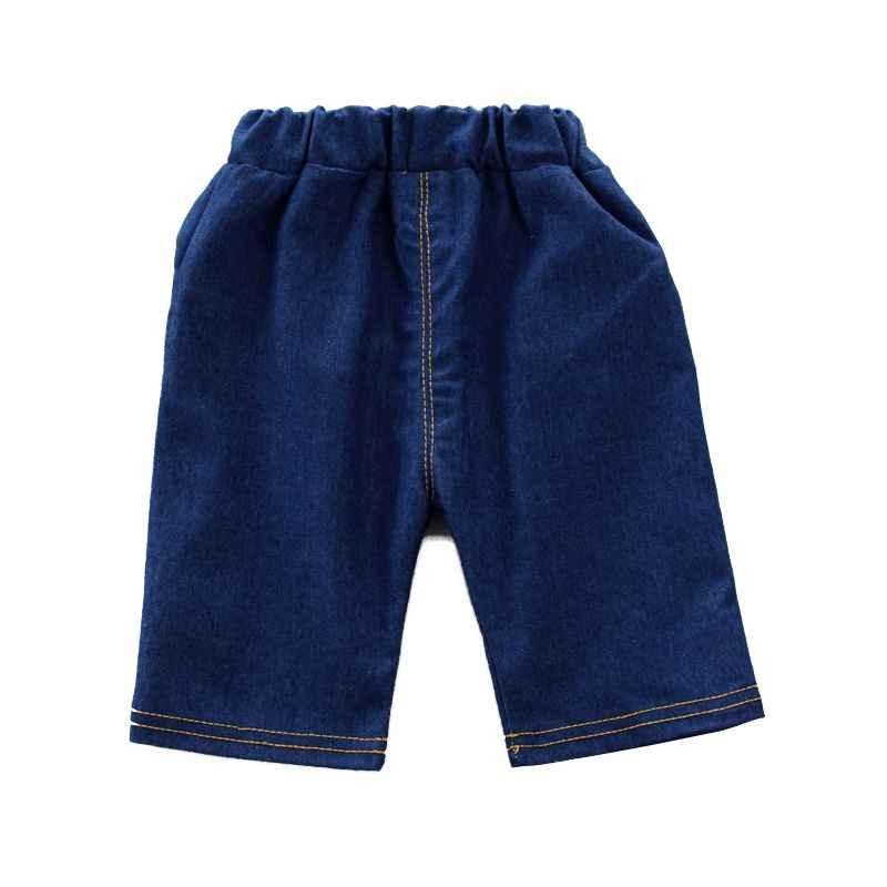 ดิสนีย์เด็กทารกฤดูร้อนดอกไม้พิมพ์เสื้อแขนสั้นเสื้อกางเกงขาสั้นเสื้อผ้าชุดลำลอง