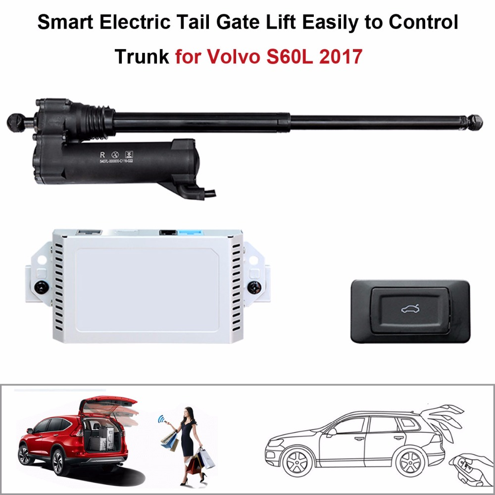 Electric Tail Gate Lift for Volvo S60L 2017 Control by Remote