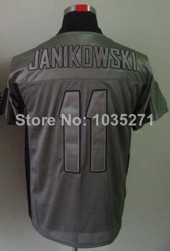 Good Quality Hot Sale!!!#11 Sebastian Janikowski Jersey,Lights Out Grey,Lights Out Black,Drift Fashion Jersey,Elite Football Jer