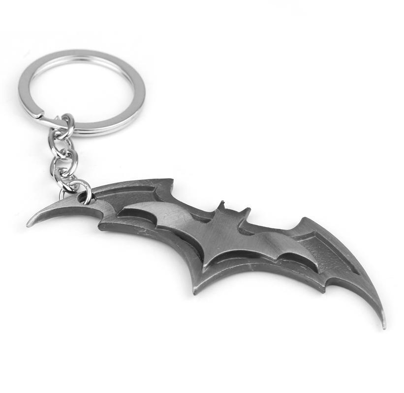 HTB1RTR9QFXXXXauXXXXq6xXFXXXY - 2019 New Fashion Avenger Union Batman keychains For Bag Key Holder Charm Hanging pendant Car Key Chains Key Ring Women & Men