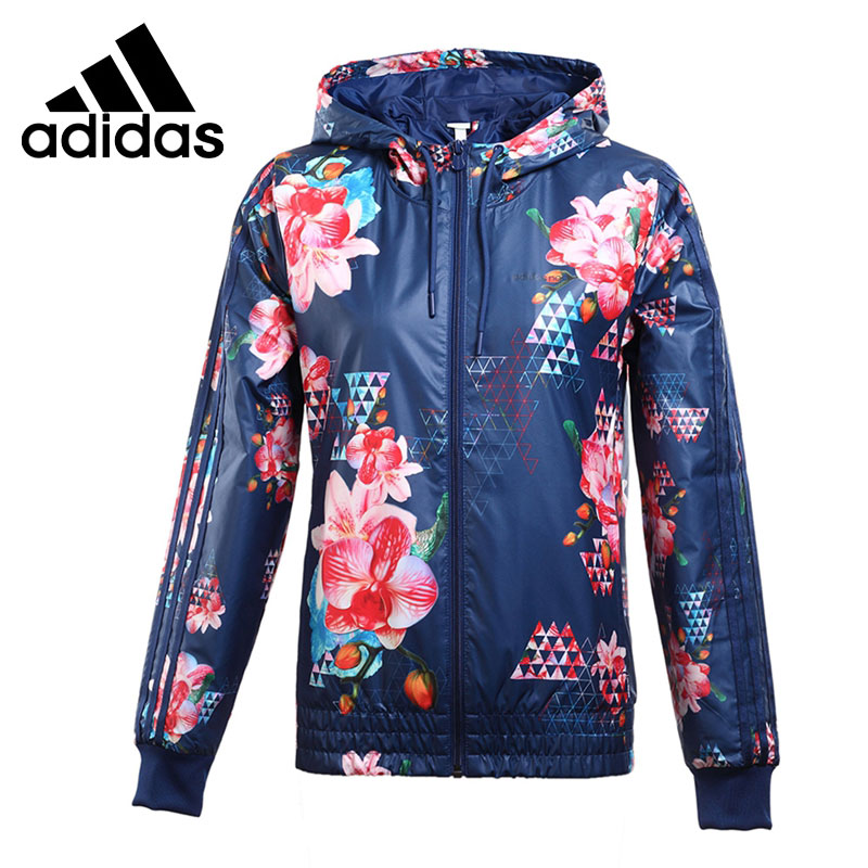 12037e355f6e ... free shipping original de la nueva llegada 2017 adidas neo label w sd  aop wb chaqueta