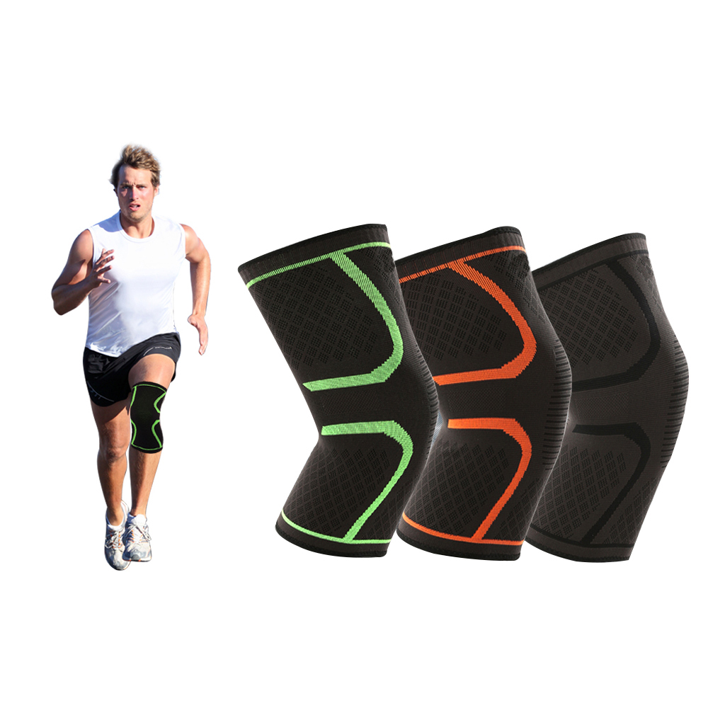 Breathable warmth Basketball Football sports safety Kneepad volleyball Knee Pads Training Elastic Knee Support knee protect