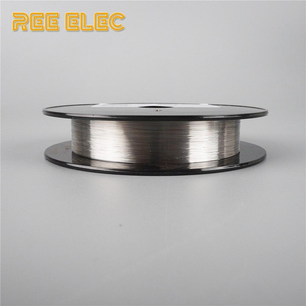 REE ELEC 100 m 34g/36g/38g/40g Nichelcromo NI80 Fili di Riscaldamento Elettronico accessori per sigarette Filo di Resistenza