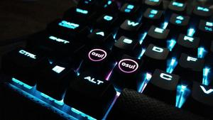 Pack of 2 Backlight OSU Keycaps for Cherry Keyboard Backlit Mechanical Keyboard Keycap