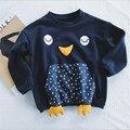 T-shirt de algodão desgaste das crianças privadas de super tridimensional frango LMY1002 facilitando a versão de alta qualidade