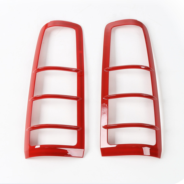 2PCS ABS Car-Styling Tail Lights Rear Lamp Trim Guards Cover Exterior Accessories For SUZUKI Jimny Free Shipping New ABS