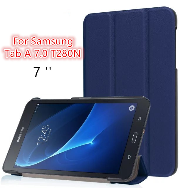 Ultra Thin Business PU Leather Flip Cover Case For Samsung Galaxy Tab A 7.0 SM-T280 SM-T285 Tablet Protective Stand Case case for samsung galaxy tab a 9 7 t550 inch sm t555 tablet pu leather stand flip sm t550 p550 protective skin cover stylus pen