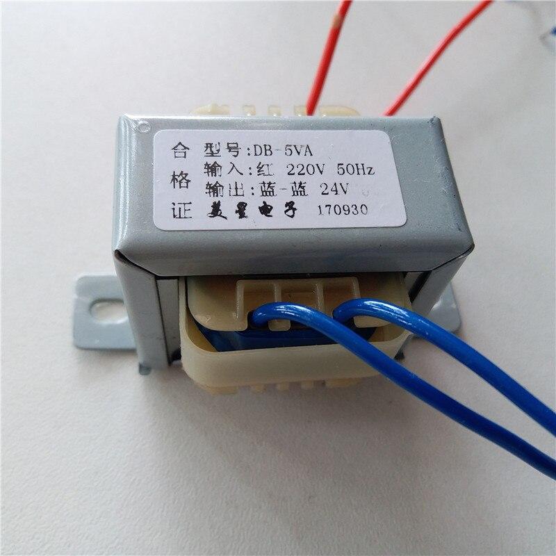 6 V 7.5 V 9 V 12 V 15 V 18 V 24 V 36 V 40 V 220 V ingresso trasformatore 220 V Trasformatore di Potenza EI41 5VA Trasformatore per la pre-amplificatore bordo