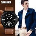 SKMEI Роскошные Лучший Бренд мужской Спортивные Часы Мода Повседневная Кварцевые Часы Мужчины Военный Наручные Часы Мужчины Relogio Часы
