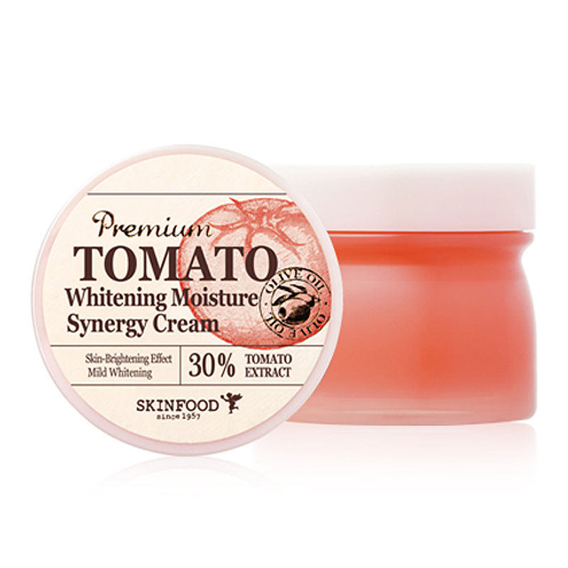 где купить SKINFOOD Premium Tomato Whitening Moisture Synergy Cream 78ml Skin Care Face Care Korean Cosmetics по лучшей цене