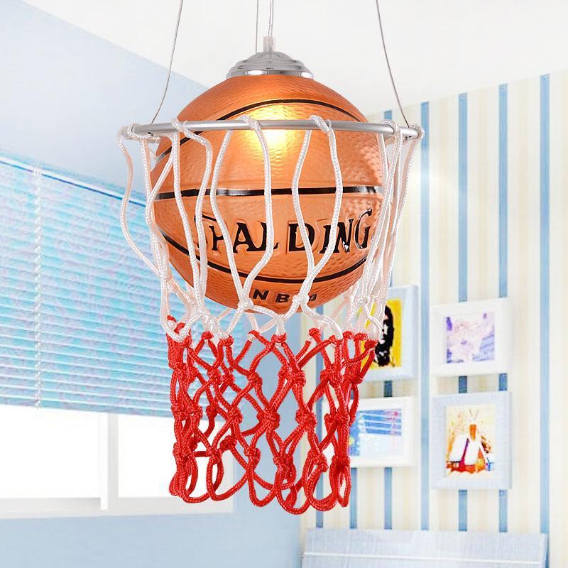 Nordique rétro mode thème Restaurant lustre Bar enfants chambre étude café magasin de sport basket-ball lampe livraison gratuite - 2
