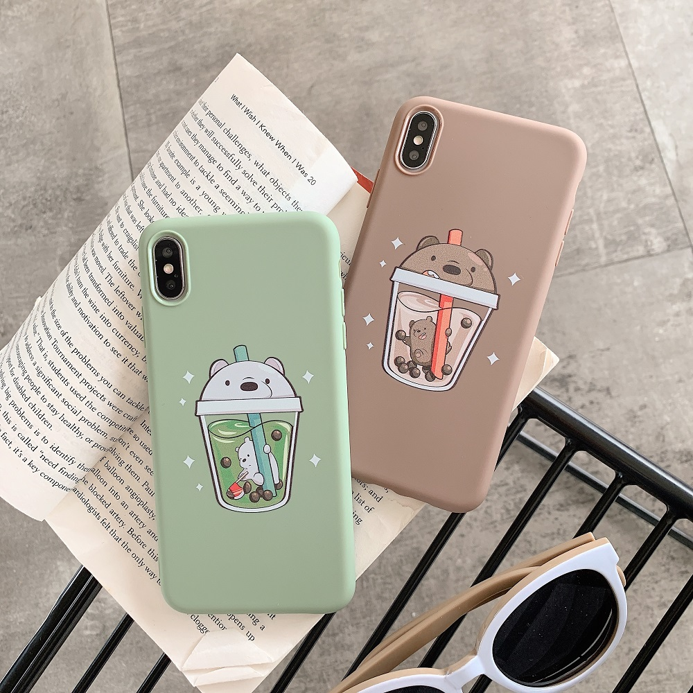 Fashion Bear Super Slim <font><b>Case</b></font> for <font><b>Vivo</b></font> X9 Plus X20 X21 X23 X27 Y66 <font><b>Y83</b></font> Y85 V9 Y71 Y93 Y97 V11i Z3 Y95 U1 S1 Y3 Z5X Cover <font><b>Case</b></font> image
