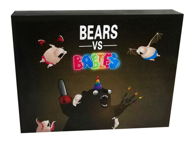 1 pc Bears Vs Bebês Em Estoque Nova Explosão Gatinhos Aveia Jogo Jogos de Tabuleiro Para Crianças Jogo de Cartão de Presente de Natal