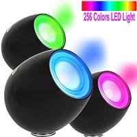 Mood romantico Proiettore di Luce Professionale 256 Colori Living Color Lampada USB Luce LED Touchscreen Barra di Scorrimento Per I Bambini Del Bambino