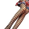 Горячая Маркетинга Женщины Черный Sexy Ажурные Pattern Жаккардовые Чулки Колготки Колготки для леди WJul4