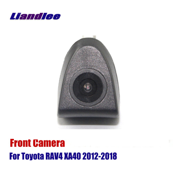 AUTO CAM For Toyota RAV4 XA40 2012 2013 2014 2015 2016 2017 2018 Car Front View Camera ( Not Reverse Rear Parking Camera ) light transmission wind deflector for toyota rav4 rav 4 2013 2014 2015 2016 2017 rain window visor for toyota rav4 2013 2017