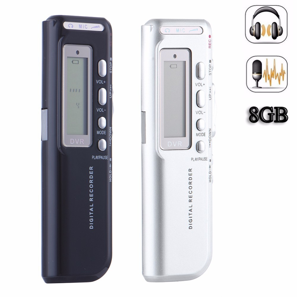 Mini Portable USB Voice Recorder Pen Professional Rechargeable 8GB Digital Sound/Voice Recorder Meeting Dictaphone MP3 Player rechargeable 8gb 650hr digital usb recording pen mini audio sound voice recorder dictaphone mp3 player with earphone usb cable 2