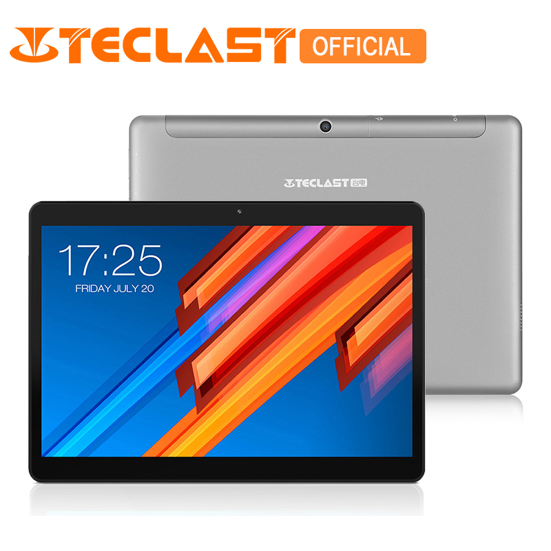 Teclast M20 Dual 4G Phone Tablet PC MT6797 X23 Deca Core 4GB RAM 64GB ROM Android 8.0 10.1 inch 2560*1600 Dual Wifi GPS Phablet vernee m6 4g phablet