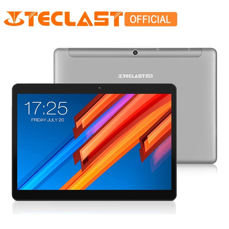 Teclast M20 Dual 4g Del Telefono Tablet PC MT6797 X23 Deca Core 4 gb di RAM 64 gb ROM Android 8.0 10.1 pollice 2560*1600 Dual Wifi GPS Phablet