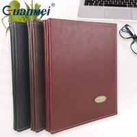 Professional A4 Display PU Folder Book Portfolio Album With Thickened Transparent Pockets For Music Score File Or Documents