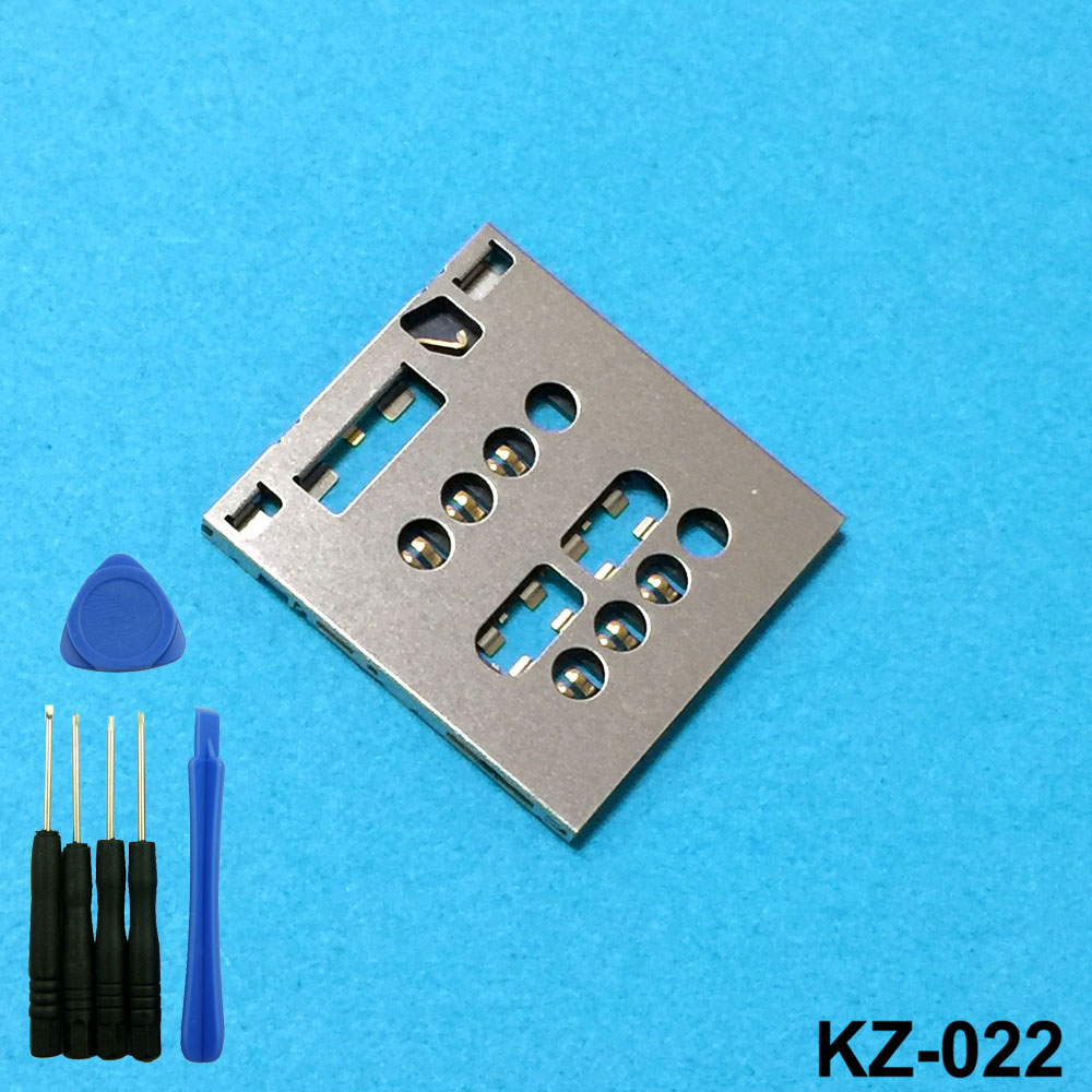 For Sony Xperia Acro S LT26W Sim Card Reader Module Slot Tray Holder Replacement Part With Tools High Quality