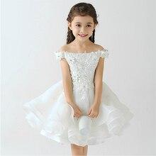 Платье принцессы для костюма 2015 нью-аппликации бальное платье цветок платья shoulderless спинки дети платья для девочек