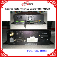 MDVR 4CH Full HD monitoring host dual SD card vehicle VCR support GPS positioning function