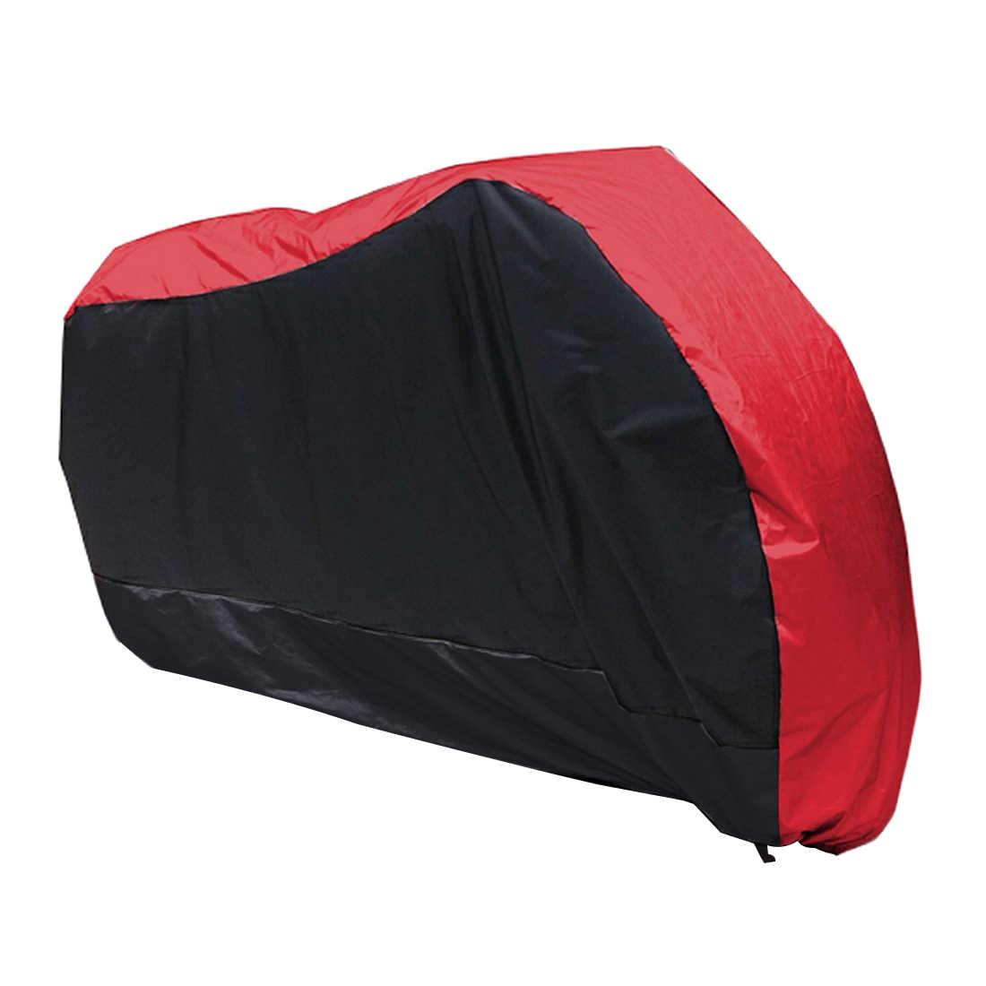 รถจักรยานยนต์ Street BIKE สกู๊ตเตอร์กันน้ำทนฝน UV ป้องกัน Breathable กลางแจ้งในร่ม + กระเป๋าเก็บ