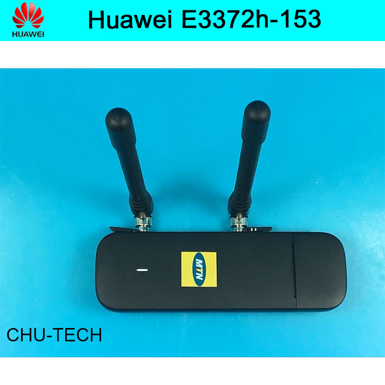 Original Unlock HUAWEI E3372 E3372h 153 150Mbps 4G LTE USB Modem dongle Dual Antenna Port Support